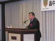 平和の尊さを再認識した畠中社長の講演でした