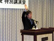 タヒボ茶への熱い思いを語る坂井社長